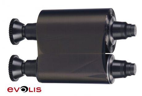 R2011-100-PRINT-BLACK-MONO-RIBBON-450px-w.-Evolis-logo1